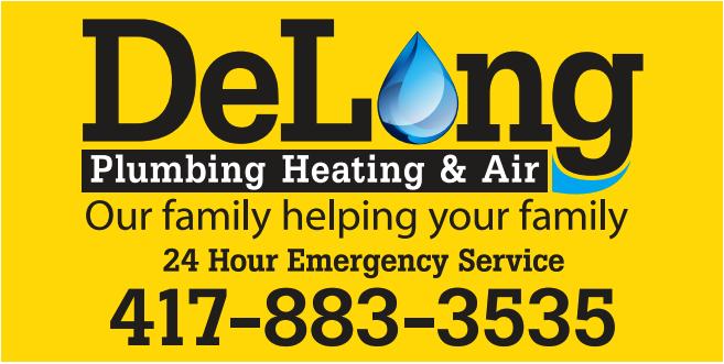DeLong Plumbing Logo